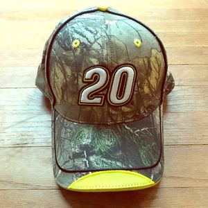 Men's Camo Matt Kenseth NASCAR Hat